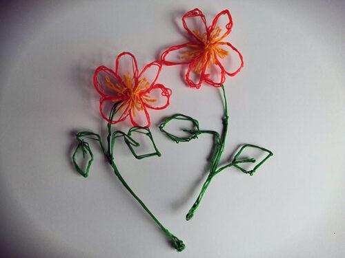 3D-flowers